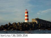 Hafeneinfahrt Madalena, Insel Pico, Azoren, Portugal   Port entrance... Стоковое фото, фотограф Zoonar.com/Günter Lenz / age Fotostock / Фотобанк Лори