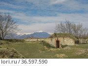 Forte Grande Monte Croce - alte Kriegsbefestigung im ligurischem ... Стоковое фото, фотограф Zoonar.com/Eder Christa / age Fotostock / Фотобанк Лори