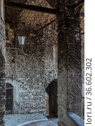 Impressionen aus Triora, dem Bergdorf der Hexen. Стоковое фото, фотограф Zoonar.com/Hans Eder / age Fotostock / Фотобанк Лори