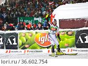 Sieger, Mario Matt, FIS Ski Weltcup Slalom der Herren, Schladming... Стоковое фото, фотограф Zoonar.com/Günter Lenz / age Fotostock / Фотобанк Лори