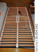 Lattenrost, bett, rost, liegen,wohnen, möbel, unterlage, schlafen... Стоковое фото, фотограф Zoonar.com/Volker Rauch / easy Fotostock / Фотобанк Лори