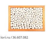 Weisse Bohnen - White beans. Стоковое фото, фотограф Zoonar.com/lantapix / easy Fotostock / Фотобанк Лори