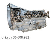 Modernes 8-Gang-Automatikgetriebe für PKW. Стоковое фото, фотограф Zoonar.com/ironjohn / easy Fotostock / Фотобанк Лори