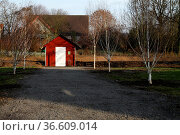 Gartenhaus in Humfeld. Стоковое фото, фотограф Zoonar.com/Martina Berg / easy Fotostock / Фотобанк Лори