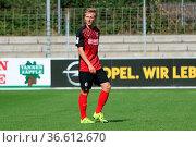 Joshua Mees (Freiburg), RL SW - 15/16 - SC Freiburg II vs SV Elversberg. Стоковое фото, фотограф Zoonar.com/Joachim Hahne / age Fotostock / Фотобанк Лори