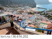 Puerto de Mogan,mogan, hafen,gran Canaria,kanaren, kanarische inseln... Стоковое фото, фотограф Zoonar.com/Volker Rauch / easy Fotostock / Фотобанк Лори