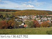 Engenhahn, Ort, Dorf, Niedernhausen, Rheingau-Taunus-Kreis, Стоковое фото, фотограф Zoonar.com/Manfred Ruckszio / age Fotostock / Фотобанк Лори