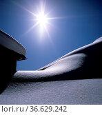 Winterimpression, Sonne, gegenlicht, Стоковое фото, фотограф Zoonar.com/Manfred Ruckszio / age Fotostock / Фотобанк Лори