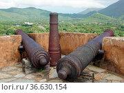 Historic Fort Santa Rosa, La Asuncion, Isla Margarita, Venezuela. Стоковое фото, фотограф Zoonar.com/Alexander Ludwig / easy Fotostock / Фотобанк Лори