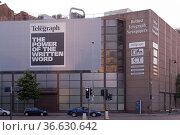 Sitz des Verlages der Regionalzeitung Belfast telegraph in Belfast... Стоковое фото, фотограф Zoonar.com/Robert B. Fishman / age Fotostock / Фотобанк Лори