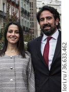 INES ARRIMADAS AND HER HUSBAND IN THE CENERENTOLA DE GIOACHINO THE... Редакционное фото, фотограф Rafael De La Camara / age Fotostock / Фотобанк Лори