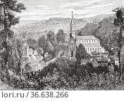 Prince's Chapel in Lichtenthal Abbey, Baden-Baden, Black Forest, ... Редакционное фото, фотограф Jerónimo Alba / age Fotostock / Фотобанк Лори