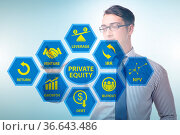 Private equity investment as a business concept. Стоковое фото, фотограф Zoonar.com/Elnur Amikishiyev / easy Fotostock / Фотобанк Лори