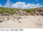 Coastal scenery in Connemara, a district in Ireland. Стоковое фото, фотограф Zoonar.com/Achim Prill / easy Fotostock / Фотобанк Лори