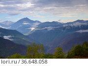 Caucasus. Chechen scenery. Chechnya,  Russia. Стоковое фото, фотограф Знаменский Олег / Фотобанк Лори