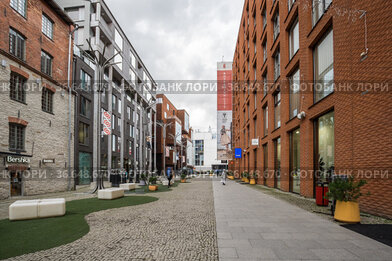 Modern architecture in the Rotermann quarter