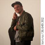 Deutscher Schauspieler Friedrich Mücke bei der Premiere. Стоковое фото, фотограф Zoonar.com/Axel Kammerer / age Fotostock / Фотобанк Лори