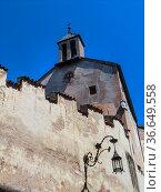 The chapel dedicated to Saint Anna, Castel Presule / Proesels Castel... Стоковое фото, фотограф Angelo Calvino / age Fotostock / Фотобанк Лори