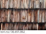 Alte Schindeln, alt, schindel, schindeln, hauswand, wand, verschindelt... Стоковое фото, фотограф Zoonar.com/Volker Rauch / easy Fotostock / Фотобанк Лори