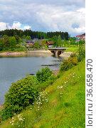 Schwarzwald, Baden-Württemberg, Hochschwarzwald, Schluchsee im Sommer... Стоковое фото, фотограф Zoonar.com/Bildagentur Geduldig / easy Fotostock / Фотобанк Лори