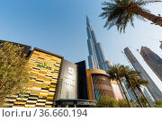 Dubai, Vereinigte Arabische Emirate - 26. Mai 2021: Dubai Mall Luxus... Стоковое фото, фотограф Zoonar.com/Markus Mainka / age Fotostock / Фотобанк Лори