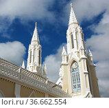 Pilgrimage Church Santuario de la Virgen, El Valle del Espirito Santo... Стоковое фото, фотограф Zoonar.com/Alexander Ludwig / easy Fotostock / Фотобанк Лори