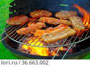 Grillen - barbecue 118. Стоковое фото, фотограф Zoonar.com/Liane Matrisch / easy Fotostock / Фотобанк Лори