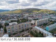 Город Чита, вид на Титовскую сопку. Стоковое фото, фотограф Геннадий Соловьев / Фотобанк Лори