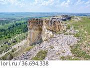 White Rock in the Crimea (2020 год). Стоковое фото, фотограф Юрий Бизгаймер / Фотобанк Лори