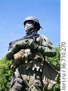 Jagdkommando soldier Austrian special forces equipped with rifle. Стоковое фото, фотограф Oleg Zabielin / easy Fotostock / Фотобанк Лори