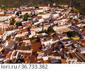 Aerial view of Elvas. Стоковое фото, фотограф Яков Филимонов / Фотобанк Лори