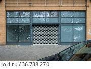 """Berlin, Germany, Mitte - Vacancy of a retail store"" Редакционное фото, агентство Caro Photoagency / Фотобанк Лори"