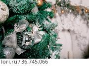 Decorative cinnamon and dried fruit close-up. Decorated Christmas... Стоковое фото, фотограф Zoonar.com/Konstantin Malkov / easy Fotostock / Фотобанк Лори