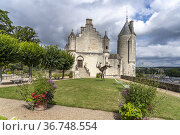 Logis Royal, Schloss Loches, Loire-Tal, Frankreich | The royal lodge... Стоковое фото, фотограф Peter Schickert / age Fotostock / Фотобанк Лори