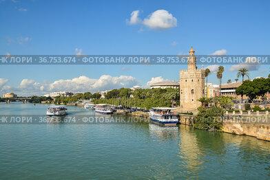 Золотая Башня в испанской Севилье