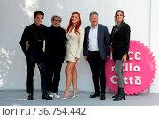 Benjamin Mascolo, Marco Belardi, Bella Thorne, Paolo Del Brocco and... Редакционное фото, фотограф KIKA / WENN / age Fotostock / Фотобанк Лори