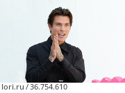 Actor Benjamin Mascolo during the Time Is Up photocall. 16th annual... Редакционное фото, фотограф Antonelli / AGF/Maria Laura Antonelli / age Fotostock / Фотобанк Лори