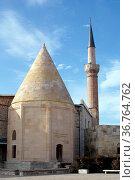 Grave and mosque of eshferoglu in Beyshehir, Turkey. Стоковое фото, фотограф Zoonar.com/Valeriy Shanin / age Fotostock / Фотобанк Лори