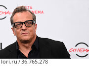 The director Gabriele Muccino during the photocall of film 'A casa... Редакционное фото, фотограф Maria Laura Antonelli / AGF/Maria Laura Antonelli / age Fotostock / Фотобанк Лори