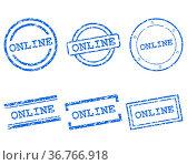 Online Stempel. Стоковое фото, фотограф Zoonar.com/Robert Biedermann / easy Fotostock / Фотобанк Лори