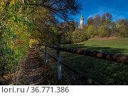 Kloster Andechs, Andechs, Oberbayern, Bayern, Deutschland| Monastery... Стоковое фото, фотограф Zoonar.com/Günter Lenz / age Fotostock / Фотобанк Лори