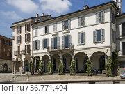 Architecture. Piazza Duomo. Monza, Lombardy, Italy. Стоковое фото, фотограф Arthur S. Ruffino / age Fotostock / Фотобанк Лори