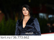 Elisa D'Ospina during the red carpet of film 'I Am Zlatan' at the... Редакционное фото, фотограф Maria Laura Antonelli / AGF/Maria Laura Antonelli / age Fotostock / Фотобанк Лори