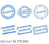 Selenium Stempel. Стоковое фото, фотограф Zoonar.com/Robert Biedermann / easy Fotostock / Фотобанк Лори