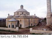 Sultan II Bayezid complex and minaret in Edirne, Turkey. Стоковое фото, фотограф Zoonar.com/Valeriy Shanin / age Fotostock / Фотобанк Лори