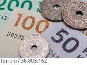 Danish kroner, currency from denmark in europe. Стоковое фото, фотограф Zoonar.com/Stockfotos-MG / easy Fotostock / Фотобанк Лори