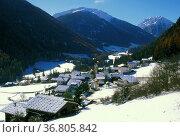 St. nicolo vista, ultimo valley, italy. Стоковое фото, фотограф Danilo Donadoni / age Fotostock / Фотобанк Лори