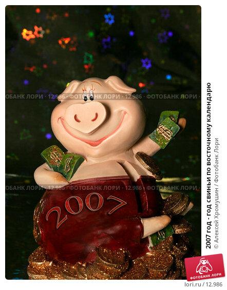 2007 год - год свиньи по восточному календарю, фото № 12986, снято 14 ноября 2006 г. (c) Алексей Хромушин / Фотобанк Лори