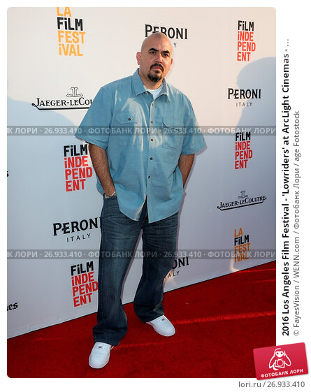 Купить «2016 Los Angeles Film Festival - 'Lowriders' at ArcLight Cinemas - Arrivals Featuring: Noel Gugliemi Where: Hollywood, California, United States When: 01 Jun 2016 Credit: FayesVision/WENN.com», фото № 26933410, снято 1 июня 2016 г. (c) age Fotostock / Фотобанк Лори