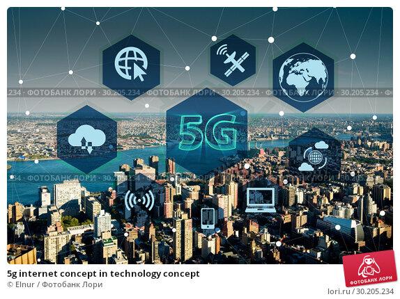 5g internet concept in technology concept. Стоковое фото, фотограф Elnur / Фотобанк Лори